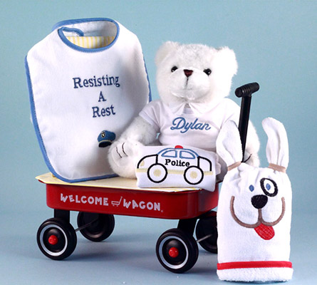 Resisting A Rest Personalized Baby Boy Gift