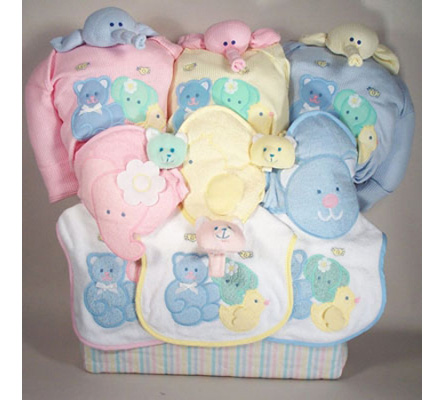 Triplets Deluxe Tote Baby Gift