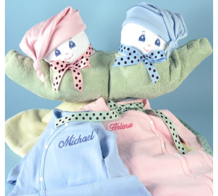 Two Peas In A Pod Personalized Gift For Twins