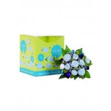 Baby Bunch Medium Gift Bouquet, Blue 0-6m
