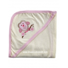 Hooded Towel - Organic Girls