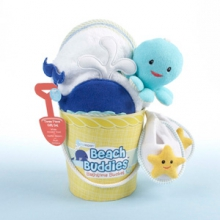 Beach Buddies 3-Piece Bathtime Bucket Gift Set