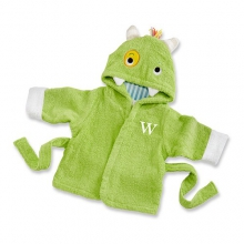 My Little Monster Hooded Spa Robe