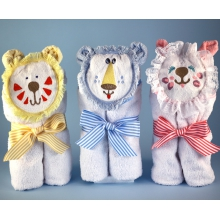 Hooded Towels Purr...fect Baby Gift