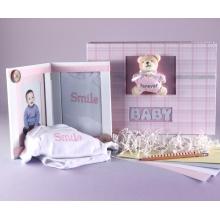 Keepsake Album & Photo Frame Baby Gift Set