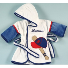 Baseball Cover-Up Personalized Baby Gift