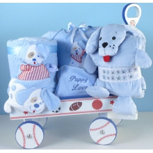 Puppy Love Deluxe Welcome Wagon Baby Gift