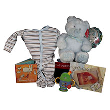 Sweet Baby Steps Baby Boy Gift