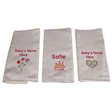 Personalized Burp Pads