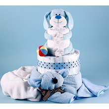 PUPPY PAL DIAPER CAKE BABY GIFT