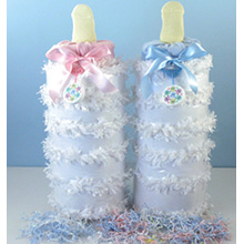 BABY BOTTLE DIAPER PINATA BABY GIFT