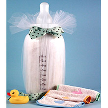Baby Blanket & Bottle Bank Baby Gift