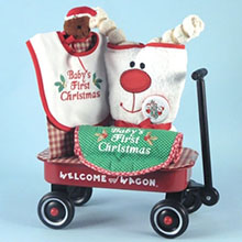 Baby's Frist Christmas Welcome Wagon Baby Gift