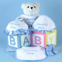 Beautiful Baby Boy Layette Gift Set