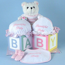 Beautiful Baby Girl Layette Gift Set
