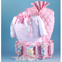 Bedtime For Baby Diaper Cake Girl Baby Gift