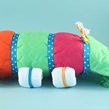 Caterpillar Changing Pad Diaper Cake Unisex Baby Gift
