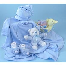 Deluxe Bathtime & Bedtime Boy Baby Gift
