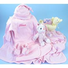Deluxe Bathtime & Bedtime Girl Baby Gift