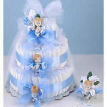 Diaper Cake Delight Baby Boy Gift