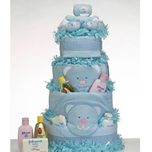 Diaper Cake Supreme Baby Boy Gift
