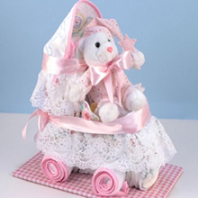 Diaper Carriage Baby Girl Gift