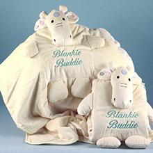 Giraffe Blankie Buddie Baby Blanket