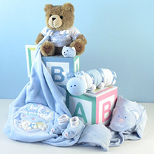 Home From The Hospital Personalized Baby Boy Gift
