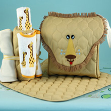 Lion Diaper Tote Newborn Baby Gift