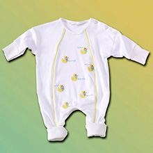 Little Duckies Infant Outfit & Hat Baby Gift