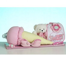 Nice Cream™ Layette Baby Girl Gift