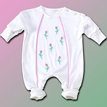 Petite Fleur Baby Girl Outfit