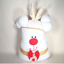 Reindeer Hooded Towel Baby Gift