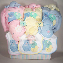 Twin and triplet baby gifts collection at best prices triplets deluxe tote baby gift negle Choice Image