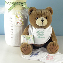 Twice As Nice Personalized Baby Shower Gift