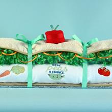 Vegetarian Baby Hoagie™ Baby Gift