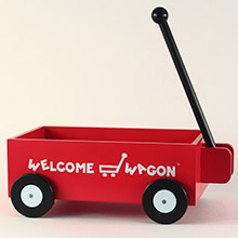 Welcome Wagon Personalized Baby Boy Gift