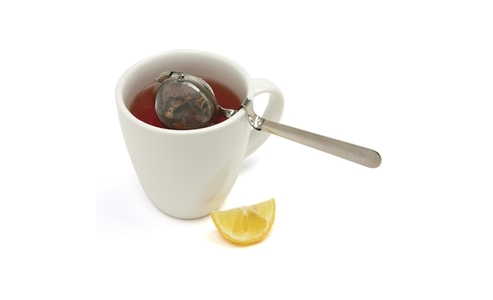 Norpro 2 Tea Ball W/Cup Rest Handle 5516