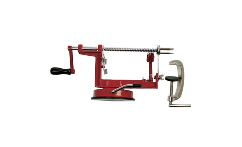 Norpro Apple Master With Vacumn Base & Clamp, Red 865R