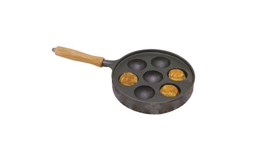 Norpro Deluxe Stuffed Pancakes Munk/Aebleskiver Pan 3115