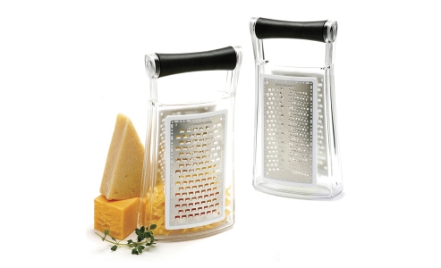 Norpro Grip-Ez Slim Grater W/Catcher 356