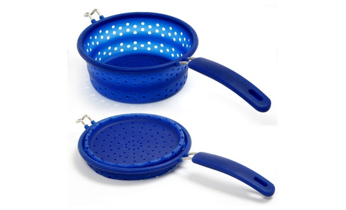 Norpro Knockdown Steamer/Strainer, Small 182C