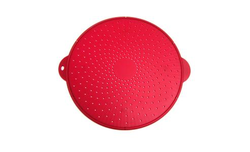Norpro Medium Silicone Splatter Screen, Red 2065
