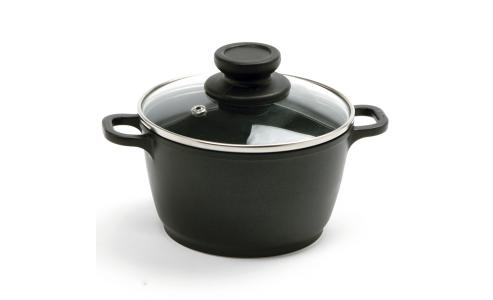 Norpro Nonstick 1Qt Mini Pot With Glass Lid 714