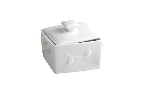 Norpro Porcelain Tea Bag Bin 5618