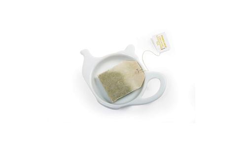 Norpro Porcelain Tea Bag Holder, Teapot 5616