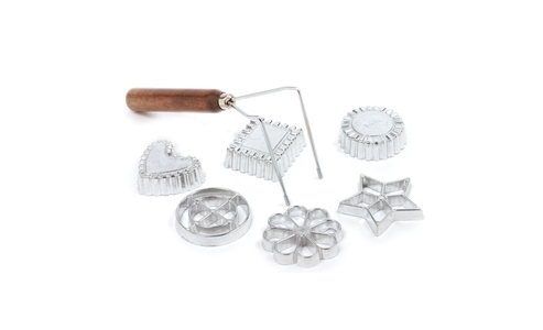 Norpro Rosette/ Timbale 7 Piece  Set 3286