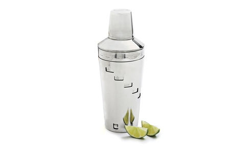 Norpro Stainless Steel  Adj Recipe Cocktail Shaker 446