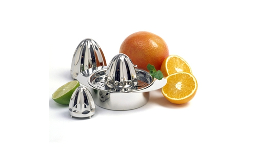 Norpro Stainless Steel  Interchangeable Triple Juicer 5206