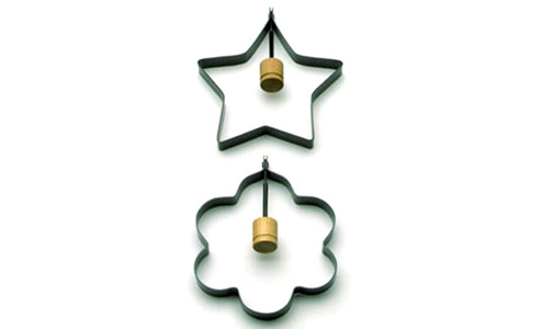 Norpro Star/Flower Pancake/Egg Rings, 2 Piece s 984